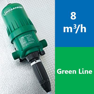 Gamme 8 m3/h – D8 Green Line
