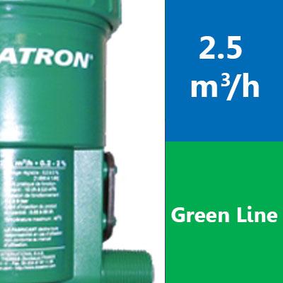 Gamme 2.5 m3/h – D25 Green Line