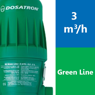 Gamme 3 m3/h – D3 Green Line